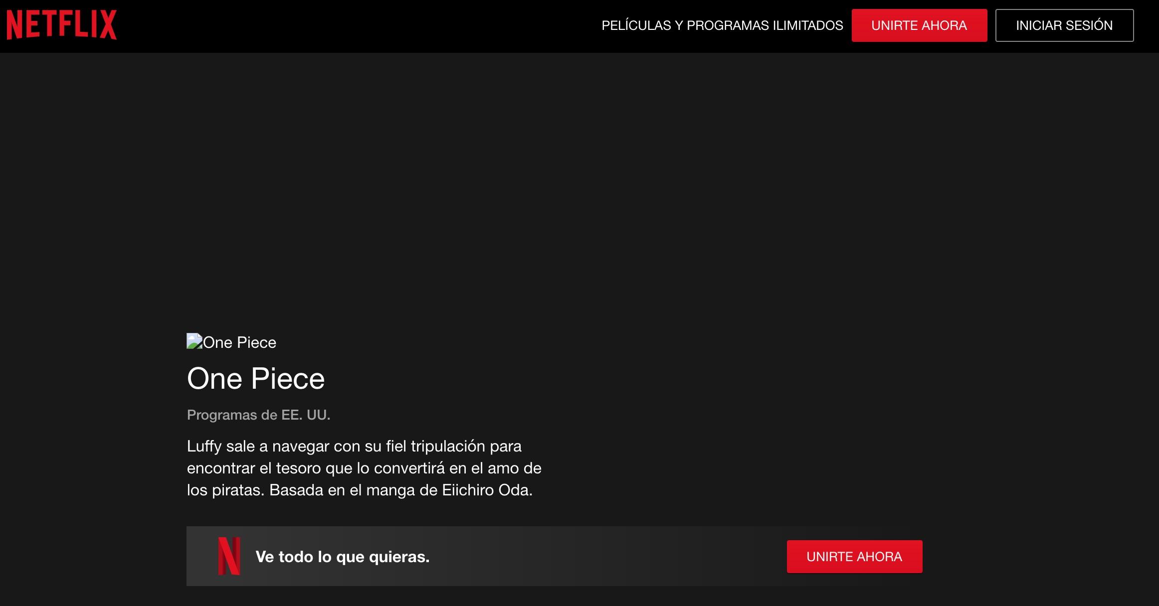 Netflix-One Piece