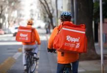 rappi y H&M - servicios de entrega