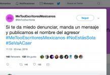 #MeTooEscritoresMexicanos