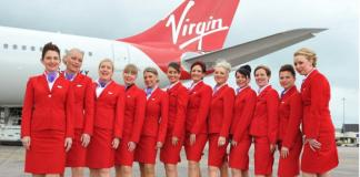 Uniforme de las azafatas de Virgin Atlantic Airways