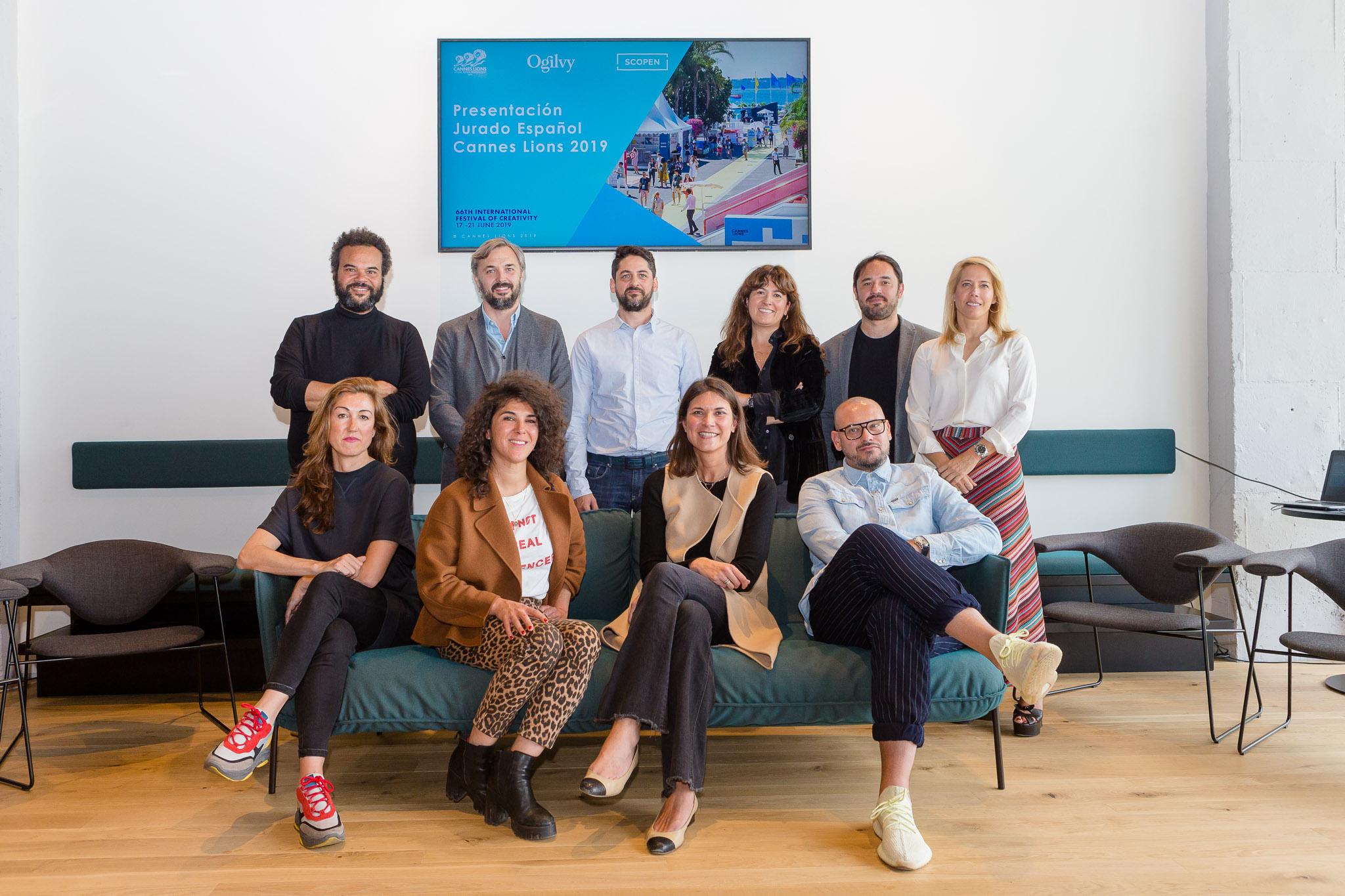 Jurado español Cannes Lions 2019