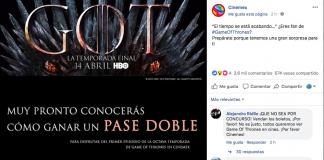 cinemex-game of thrones