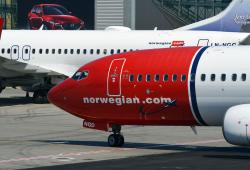 Avion Boeing 737 de Norwegian