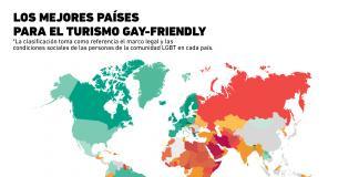 #DíaContraLaHomofobia: ¿Cuáles son los mejores países para el turismo LGBT?