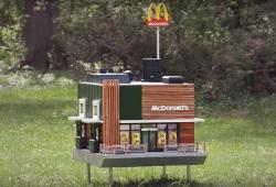 McDonald's creó tiendas miniatura paralas abejas