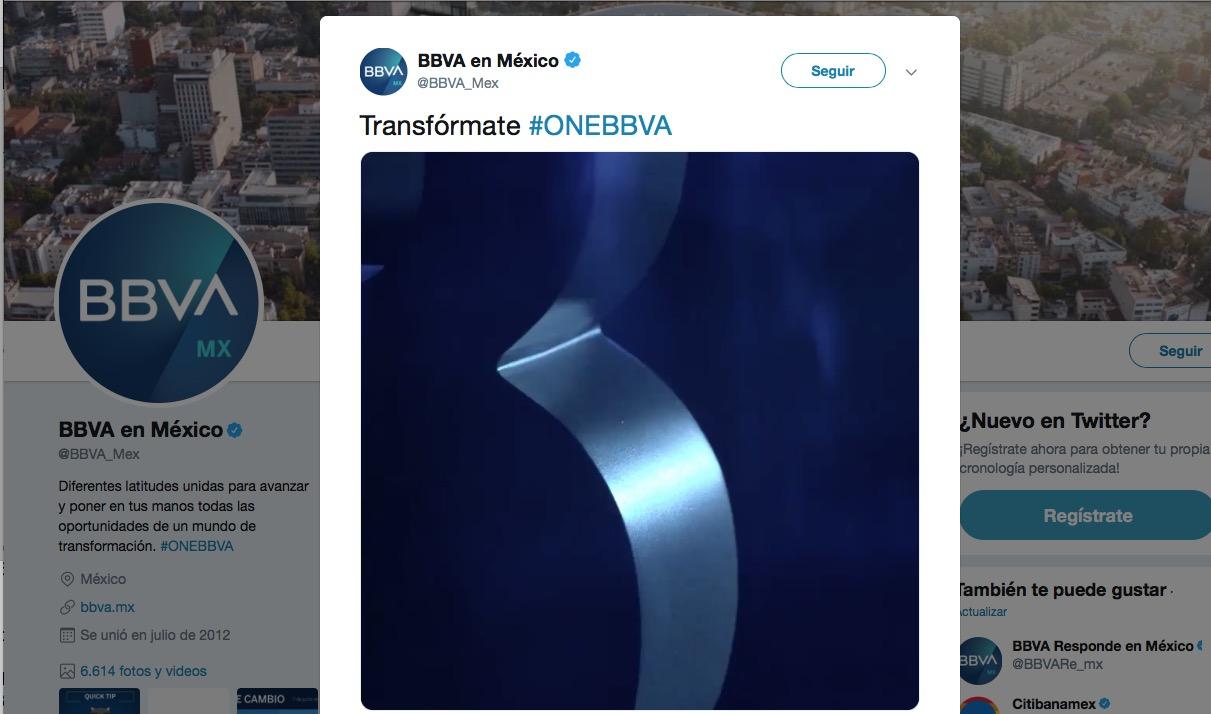 BBVA se despide oficialmente de Bancomer en México