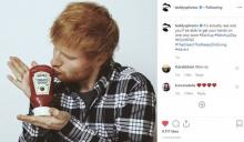 Heinz lanzó la Edchup, inspirada en Ed Sheeran y en su conmovedora historia de lealtad de marca