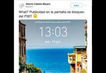 Huawei impone publicidad a sus usuarios incluso cuando sus P30 están bloqueados