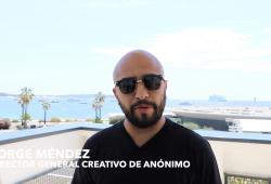 Jorge Méndez-director general creativo de Anónimo-front