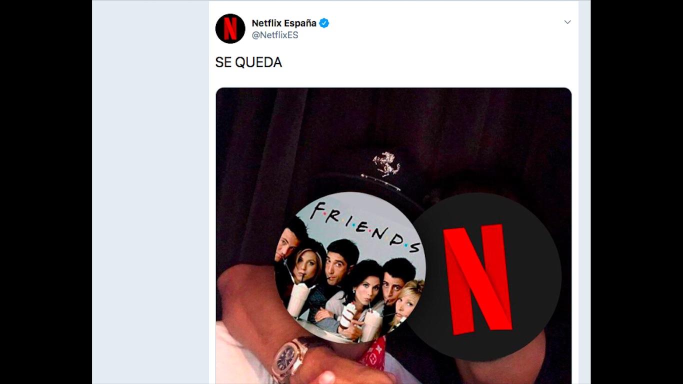 HBO arrebata los derechos de 'Friends' a Netflix en España | Bluper