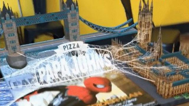 realidad-aumentada-Snapchat-Papa-Johns-SpiderMan
