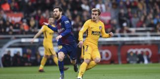Barcelona-Antoine Griezmann-Messi