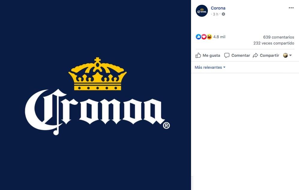 De Corona a Cronoa y Stella Artois a Stella Atriosqué pasa con los dedazos en el logo de las cerveceras