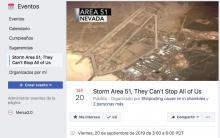 Área 51: Campañas, noticias, celebridades, y todo lo que puede mover una simple broma