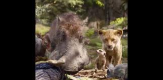 Simba, Timón y Pumba en su máxima expresión en el nuevo adelanto de The Lion King
