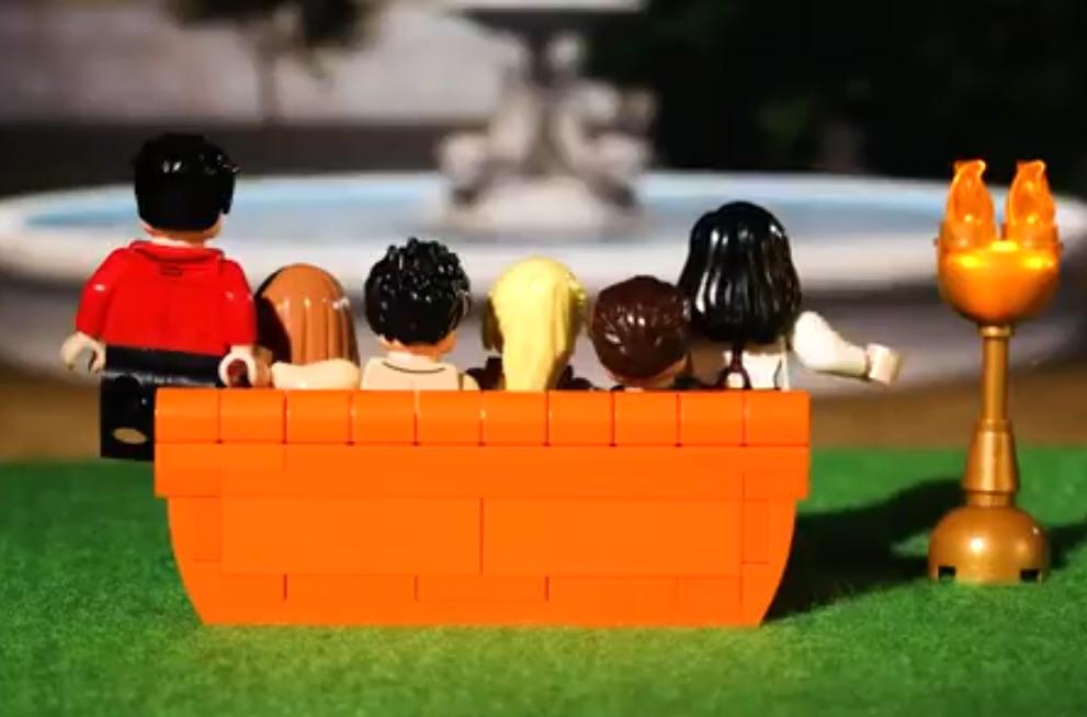 Ahora podras tener a los protagonistas de Friends en miniaturas de LEGO
