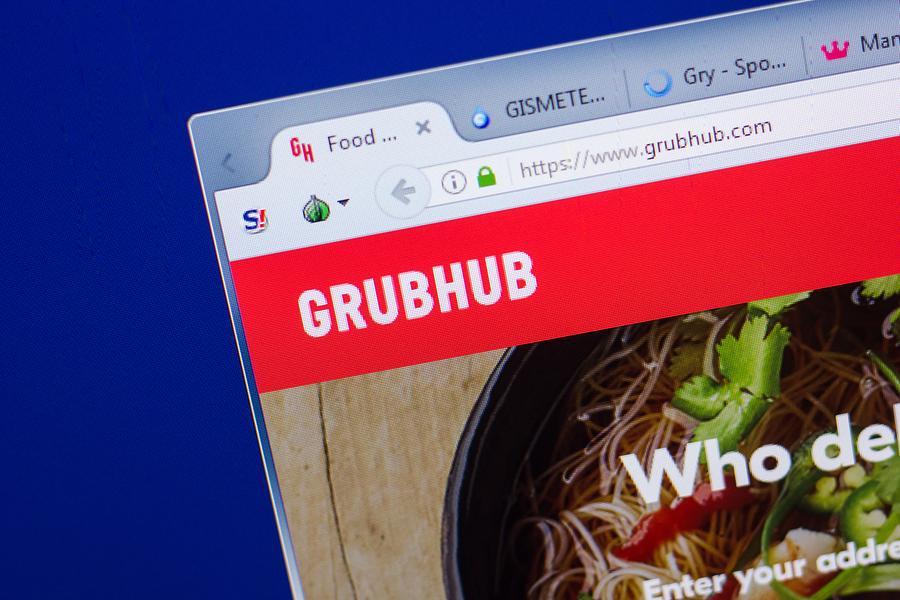 GrubHub cayó al segundo lugar en 2019