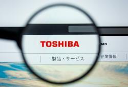 Logo Toshiba en website