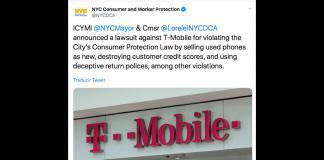 Acusan a T-Mobile de vender teléfonos usados como si fueran nuevos
