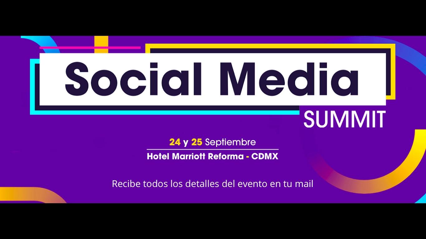 Estos son los temas del Social Media Summit que como estratega deberías dominar