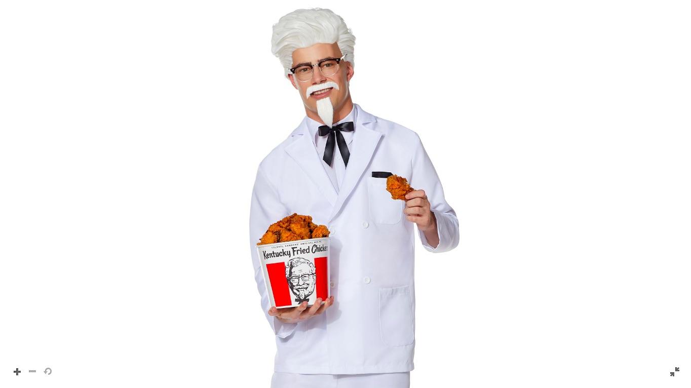 KFC lanzó un disfraz de Coronel Sanders con Spirit Halloween