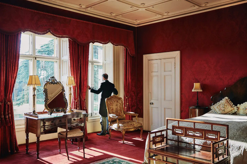 habitación downton abbey