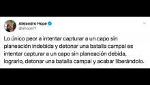 Políticos y líderes de opinión reaccionan a la detención del hijo de El Chapo