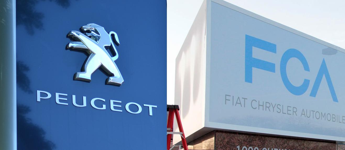 FCA PSA Fiat Peugeot