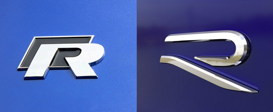 rebranding volkswagen r logo