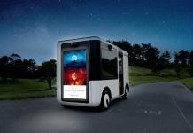 Vehículo eléctrico autónomo de Sony y Yamaha