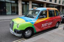 Taxi Just Eat Londres
