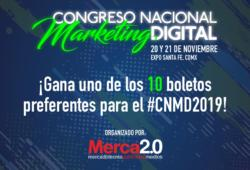 ¡Gana un boleto para el Congreso Nacional de Marketing Digital!
