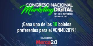 ¡Gana un boleto para el Congreso Nacional de Marketing Digital!
