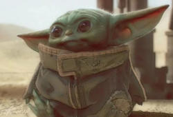 Disney-The Mandalorian-baby yoda