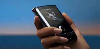 El nuevo Razr de Motorola. Imagen: Motorola.