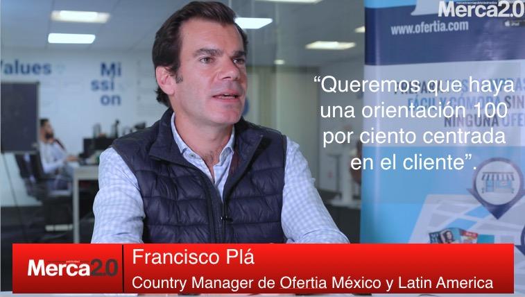 Los ponentes del CNMD 2019: Francisco Plá, Country Manager de Ofertia México