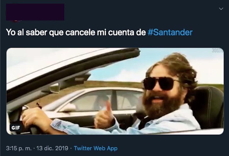 Falla app y banca móvil de Santander [Negocios]