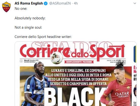 """Acusan al Corriere dello Sport de racismo por la portada del """"black friday"""""""