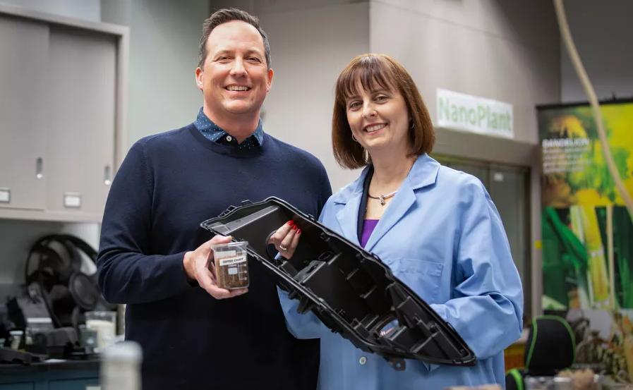 ford y mcdonalds reciclan café para hacer autos