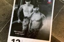 pagina del calendario de los marines holandeses