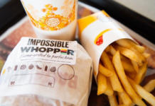 Burger King Impossible Foods