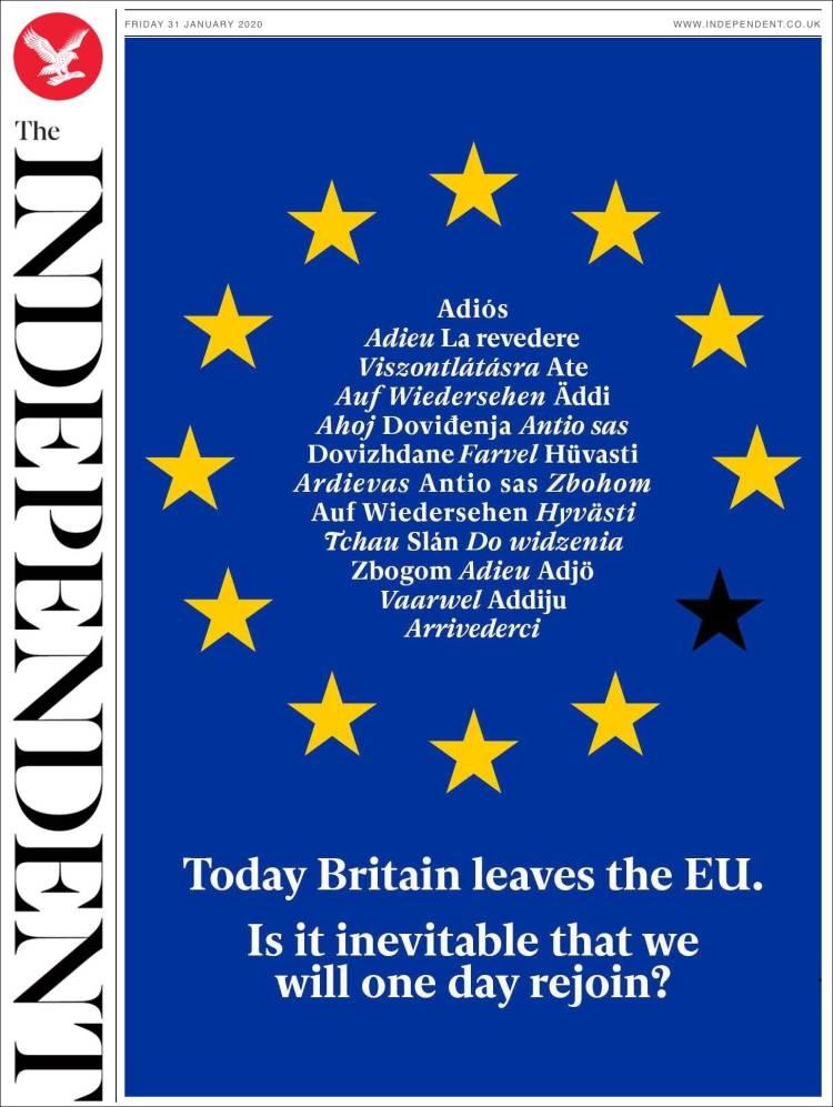 Brexit portadas creativas