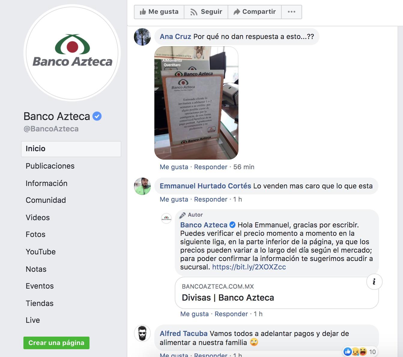 Banco Azteca-coronavirus