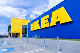 Nuremberg / Germany - April 7, 2019: Ikea Branch On A Warehouse