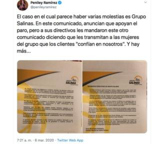 TV Azteca-UnDiaSinNosotras-9 de marzo