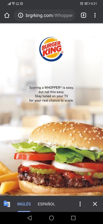 Burger King_Codigo QR