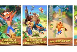 Crash Bandicoot-Google Play Store