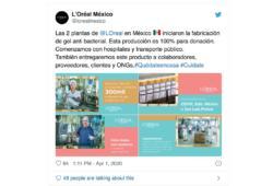 L'Oreal-coronavirus-México