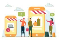 comercio electrónico - tienda online - Mobile marketing - e-commerce