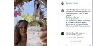 Dwayne The Rock Johnson-Teremana-Tequila